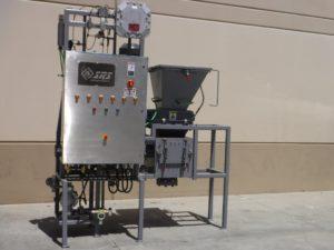 Aerosol shredding system 200 cans