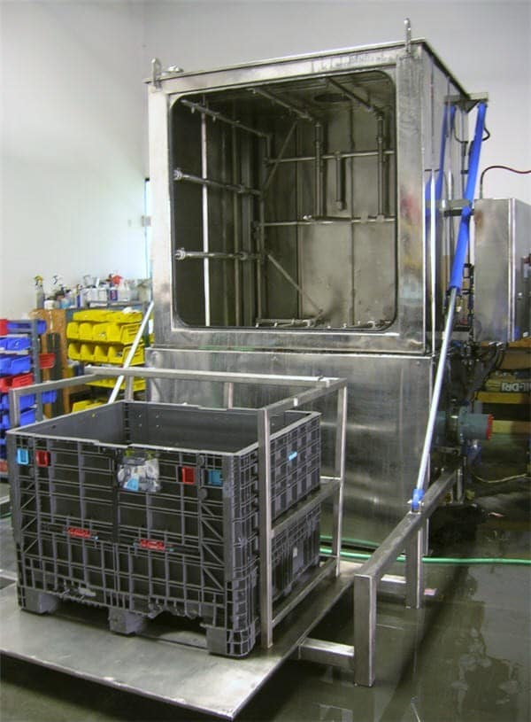 Tote Washer
